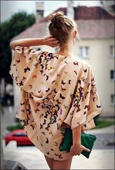 Precioso kimono #streetstyle