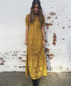 Blogger @wheretwowander in our Sienna Maxi Dress #myFLL