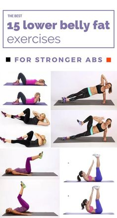 The Best 15 Lower Belly Fat Exercises For Stronger Abs