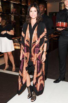 Miroslava Duma in Gucci | Chime for Change - Celebrity Photos - Harper's BAZAAR