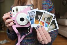 I want a polaroid sooo bad!