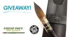 Cheap Joe's 30th Anniversary Kolinsky Sable Brush Giveaway!
