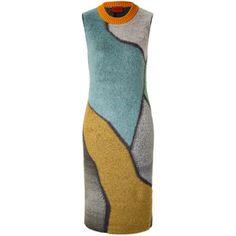 Missoni Wool Blend Geometric Dress