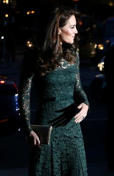 Catherine, Duchess of Cambridge arrives to attend the  2017 Portrait Gala at the National Portrait Gallery on March 28, 2017 in London, Britain.