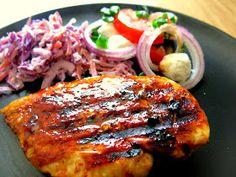 Kropla Oliwy: Grillowana pierś z kurczaka Impreza, Grilling, Pork, Chicken, Meat, Cooking, Amazing, Recipes, Kale Stir Fry