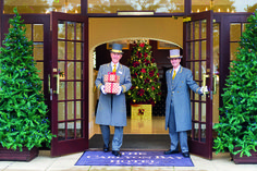 Welcome to The Carlyon Bay Hotel, we would like to wish you a very merry Christmas! Cornwall Hotels, Luxury Spa, Very Merry Christmas, Just Relax, Favorite Holiday, Swimming Pools, How To Memorize Things, Pond, Warm
