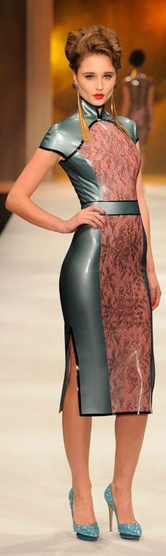 Atsuko Kudo látex Dress