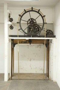 Antique elevator lift #PneumaticVacuumElevators www.vacuumelevators.com