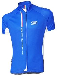 Maglia Ciclismo Manica Corta Mortirolo Pure Made in Italy Blu - Store For Cycling