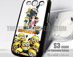 Super cool despicable me phone case with minions