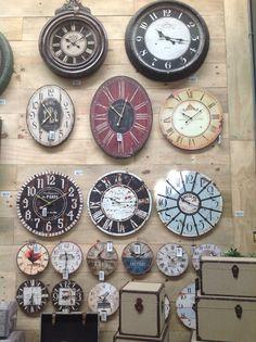 Os Relógios de Pared