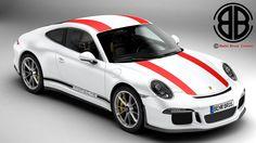 3D Model Porsche 911 R 2017 - 3D Model