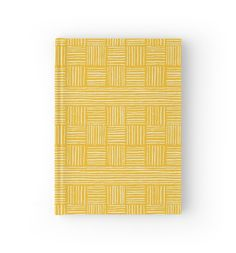 Retro Grace - Stripes Journal by Ashley Behnke   Mustard