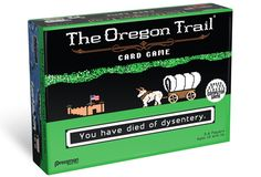 The Oregon Trail Card Game: Horrible Death Is Fun For The Whole Family