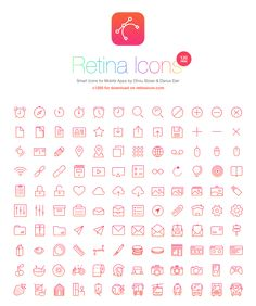 Yes!  We also have Free Icons! Great Collection . Fine Line Icons . Designer's Kit