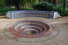 fuentes taurinas | Fuente de los toreros, en la que destacan los azulejos policromados ...