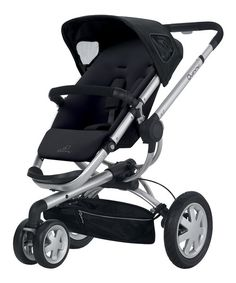 Perfect for taking little ones out and about, this clever stroller makes going for walks easy and efficient. This snazzy stroller features a roomy, cushioned seat and air-filled rear tires and suspension that all work to provide kids with a smooth and comfy ride. With a seat that is both reversible and reclining, kids have the option to face forward or backward. This stroller even unfolds automatically, so parents can quickly get children ready for adventures.
