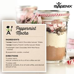 The holiday season is upon us. There's no denying that it can also be a time of overindulgence on favorite holiday foods. The good news is that Isagenix can help you find a way to stay on track while still enjoying yourself. Here are some nutritious swaps for your favorite holiday treats, so you can still be festive while managing your weight.