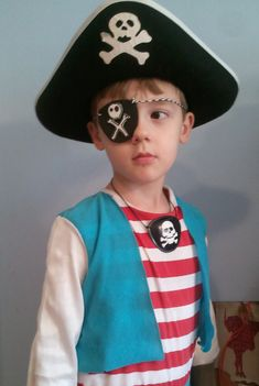 Home made pirate patch to complete your little pirate for Disney