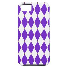 Harlequin Diamond Pattern Cover For iPhone 5/5S for Mardi Gras