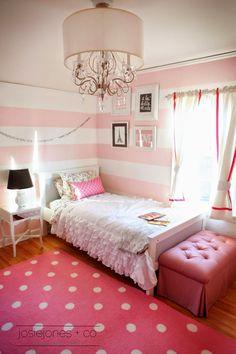 Muebles y Decoración de Interiores: dormitorios de niñas