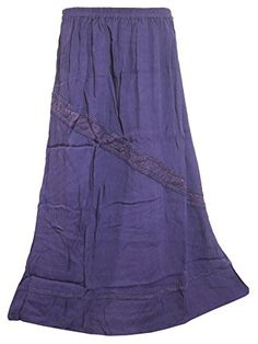 Boho Chic Skirt Purple Stonewashed Rayon Retro Vintage Skirts, Mother's Day Gift Mogul Interior http://www.amazon.com/dp/B00WMBQQDA/ref=cm_sw_r_pi_dp_sMYovb0CGZY4P