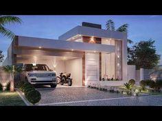 Planta de casa com cozinha integrada - 85A - YouTube