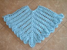 Looking for your next project? You're going to love Sheer Heaven Crochet Poncho Pattern by designer craftylady1125. - via @Craftsy