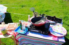 Camping breakfast -