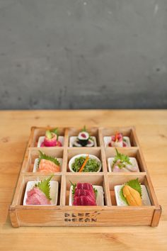 Omakase Box at Blue Ocean Carlsbad - Fresh Sushi in San Diego County // localadventurer.com