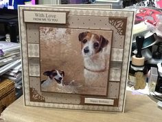 Made with Pollyanna Pickering - Best of Breeds Create And Craft Tv, Birthday Cards, Happy Birthday, Dog Life, Pet Birds, I Card, Handmade Cards, Are You Happy, Cardmaking