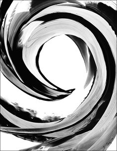 Brilliantly Bold: Black & White Paintings by Sharon Cummings