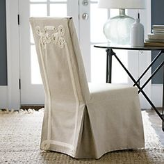 Elegant Pam Morris Sews: Dropcloth Slipcovers For Leather Parsons Chairs | Sew |  Pinterest | Parsons Chairs, Leather And Upholstery