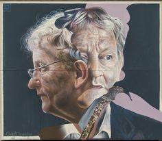 Tribute to Eberhard van der Laan Graffiti, Character, Artwork
