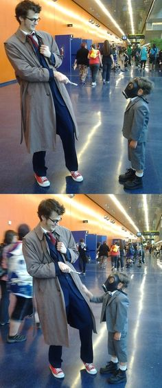 One of the best Doctor Who cosplays I have ever seen. The Empty Child episode! Are you my mummy? - Geek Parents Are Cool