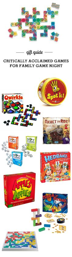 Gift guide: best games for family game night - the third one on the list is our favorite!