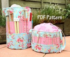 Ultimate Knitters Crochet Tote PDF Pattern