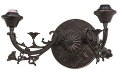 16 Inch W Victorian 2 Lt Wall Sconce Hardware