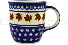 Polish Pottery 12 oz Mug | Boleslawiec Stoneware | Polmedia H1913D