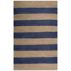 Kate Spade New York Nolita Seaside Stripe Rug, Blue