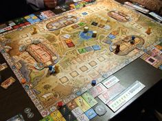Colosseum - This game has been out since 2007, but I played it for the first time on Saturday.  I really enjoyed the mechanics and the board pieces are really nicely designed.