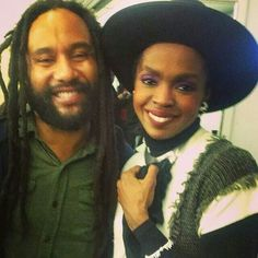 Kymani and Lauryn Hill