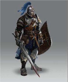 Dragon age inquisition concept art warrior