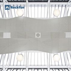 Did you know that the acoustic comfort in hospital surrounding can benefit the healing process? At Morriston Hospital they wanted to create a welcoming environment with an outstanding acoustic performance. The art was inspired by the Welsh landscape and its people to make people comfortable. In the atrium, Rockfon Eclipse® provides great sound absorption and continue the overall visual theme. #SoundsBeautiful #rockfon #healthcare #designforhospital #wellbeing #peopledesign #modernceiling Sound Absorption, Healthy Environment, Modern Ceiling, Noise Reduction, Atrium, Ceiling Design, Welsh, Case Study, Acoustic