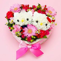 Hello Kitty and Dear Daniel flower arrangement!