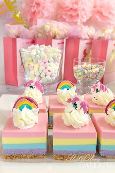 Party Treats, Food Cakes, Unicorn Party, Kids And Parenting, Cake Recipes, Food And Drink, Birthday Cake, Baby Shower, Baking