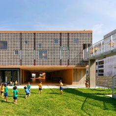 Hanazono Kindergarten in Japan designed by Youji No Shiro