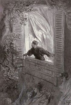 "Gustave Doré's Hauntingly Beautiful 1883 Illustrations for Edgar Allan Poe's ""The Raven"" – Brain Pickings 
