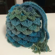 Dragon Egg Dice Bag - Free Pattern                                                                                                                                                                                 More