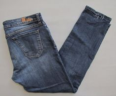 "Kut From The Kloth Jeans 10 Katy Boyfriend Straight Medium Distressed Denim 28"" #KUTfromtheKloth #Boyfriend"